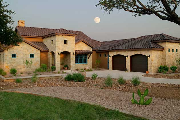 N Home Front Elevation : Tony roberts texas custom home builder tx homes and